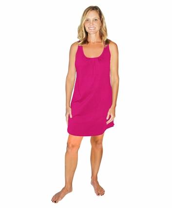 cool-jams.com moisture wicking tank top night dress