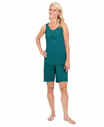 tank top made of fabric with moisture transfer system