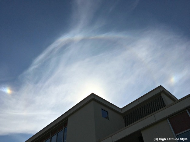 optical phenomena in Alaska
