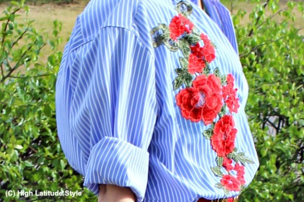 embroidery in fashion over 40