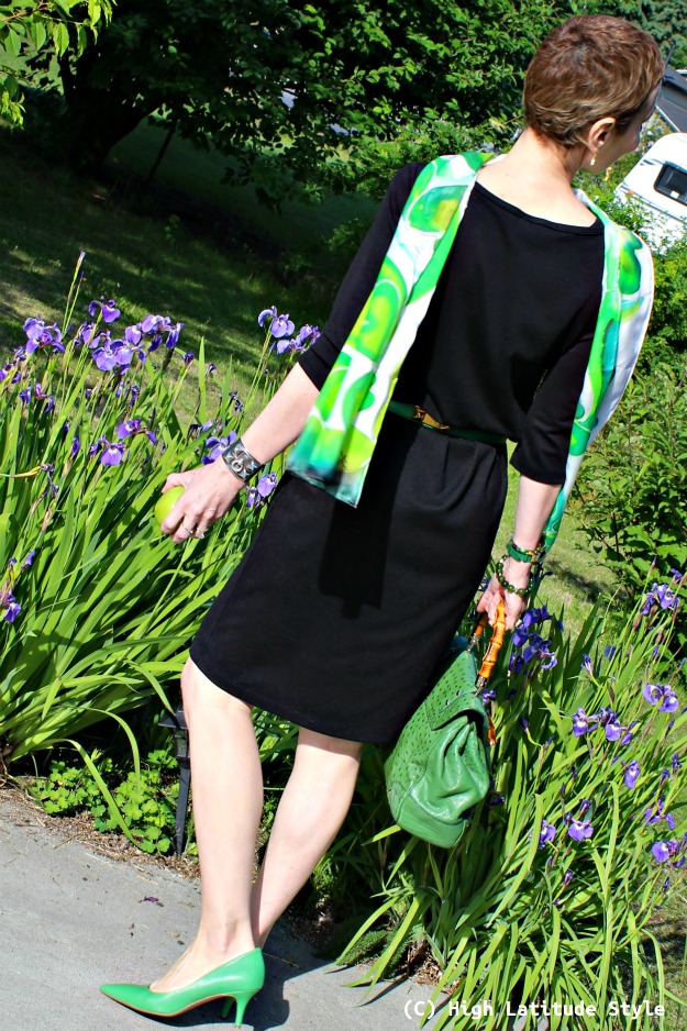 mature style woman in work outfit