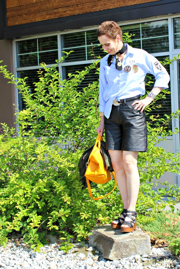 mature fashion woman in California Casual