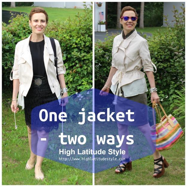 one jacket two ways
