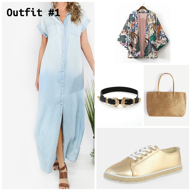 fashion over 40 summer vacation outfit