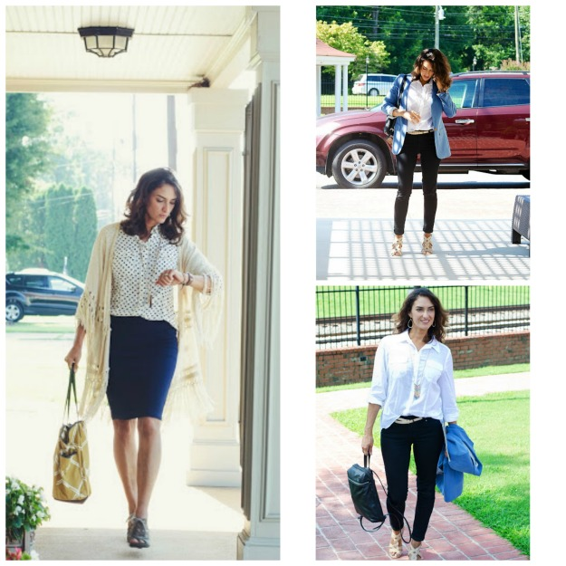 style over 40 Chrissy in summer to fall transition looks