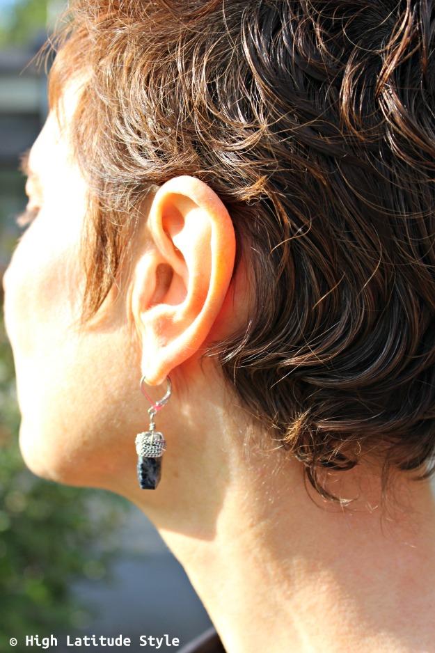 jewelry over 40 lapis semi-precious gemstone earrings