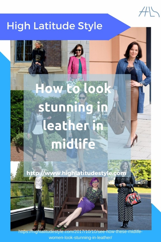 Wearing leather in midlife